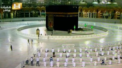 """Photo of السعودية: 3500 لتر يوميًا من المعقمات لمنع وصول """"كورونا"""" لساحات الحرم"""