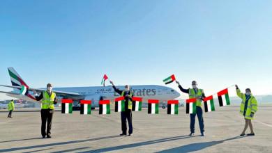 Photo of طيران الإمارات تحتفل باليوم الوطني في القارات الست